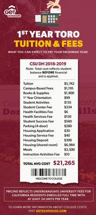 1st Year Toro Expenses