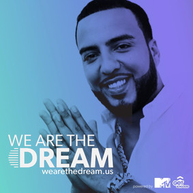 French Montana promotion for the We Are the Dream campaign.