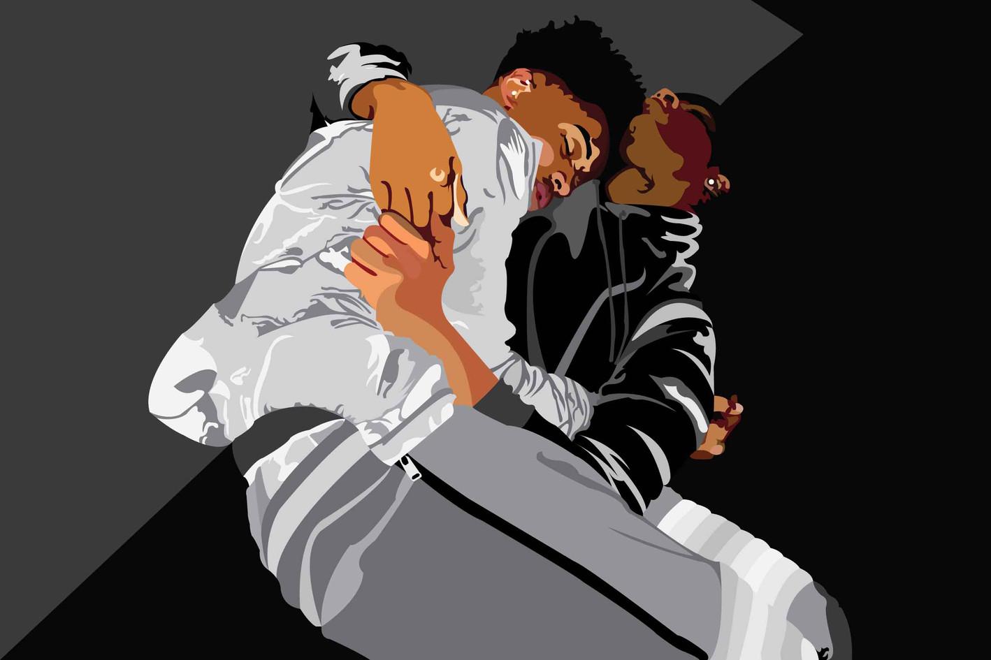Black boys cuddle too, 2019
