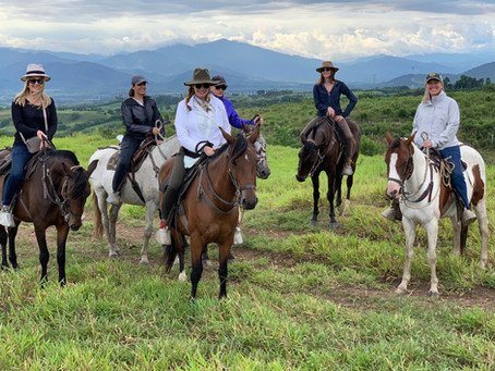 Horseback Riding at Hacienda el Palomar