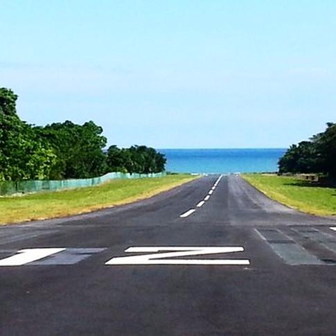 Tambor landing strip
