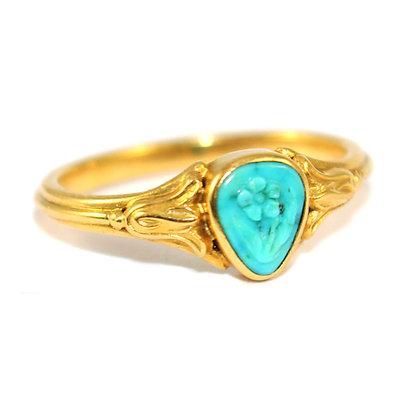 Georgian Turquoise Ring