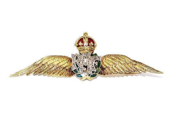 Art Deco RAF Sweetheart Brooch