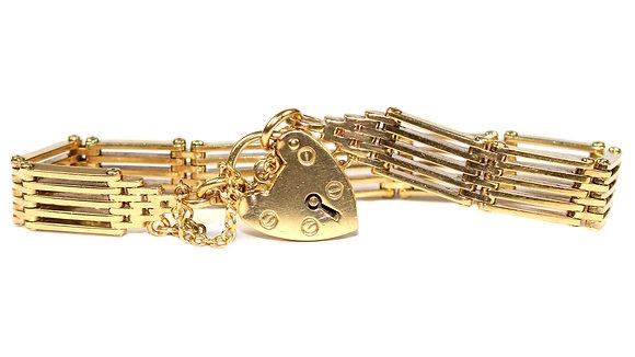 Antique Gatelink Bracelet