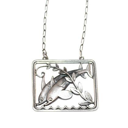 Georg Jensen Dolphin Necklace