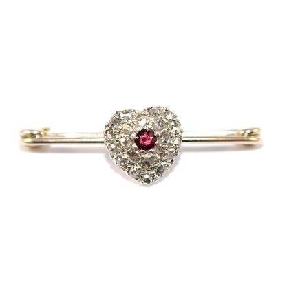 Victorian Diamond Heart