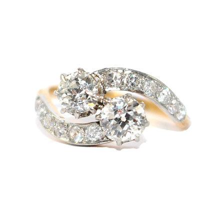 Edwardian Diamond Ring Estate Jewelry