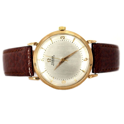 Omega Gold Automatic Vintage Watch