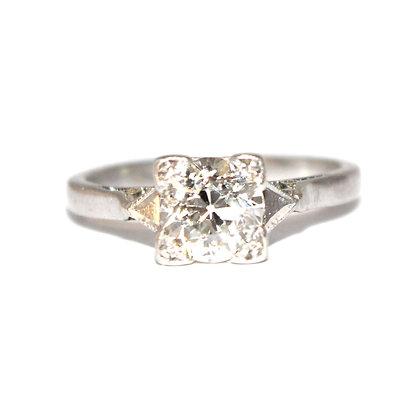Art Deco 1.06 carat Diamond Ring