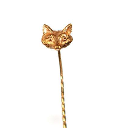 Victorian Fox Pin