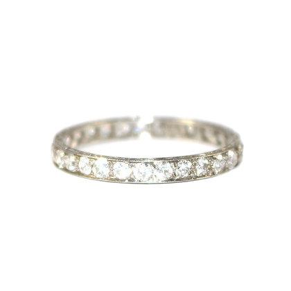 Art Deco Diamond Eternity Ring c.1935 size R