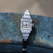 diamond cocktail watch