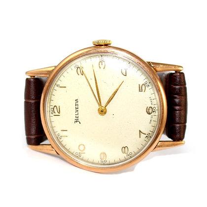 Helvitia Gold Watch