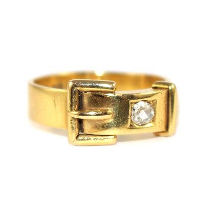 Victorian Buckle Ring Shrewsbury