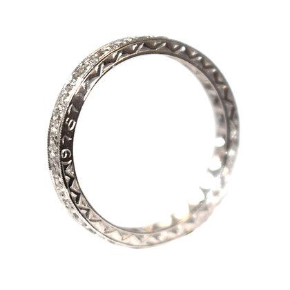 Art Deco Diamond Eternity Ring c.1930 Size L 1/2