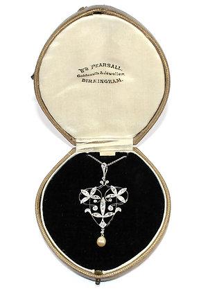 ART NOUVEAU DIAMOND JEWELLERY