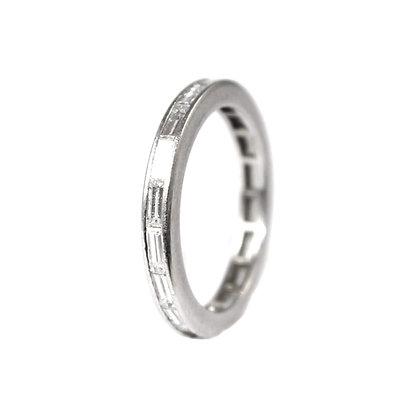TIFFANY Baguette Diamond Eternity Ring size J