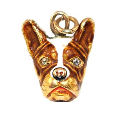 Edwardian Dog Charm c.1920