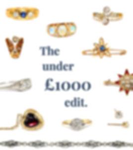 Antique Jewellery Under £1000