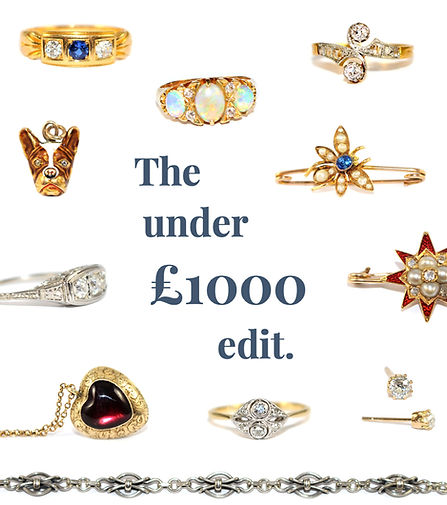 Antique Jewellery Under £1000
