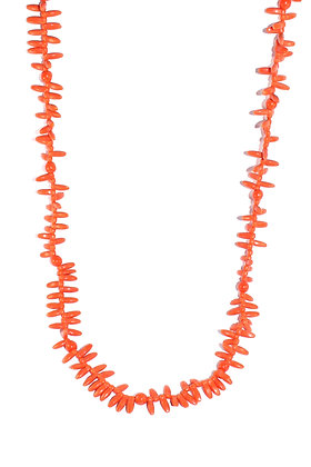 Victorian Coral Bead Necklace c.1900
