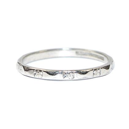 Art Deco Platinum Wedding ring