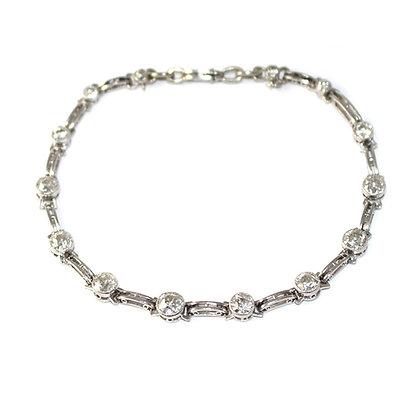 Art Deco Old-Cut Diamond Bracelet c.1930