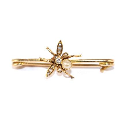 Antique Fly Brooch