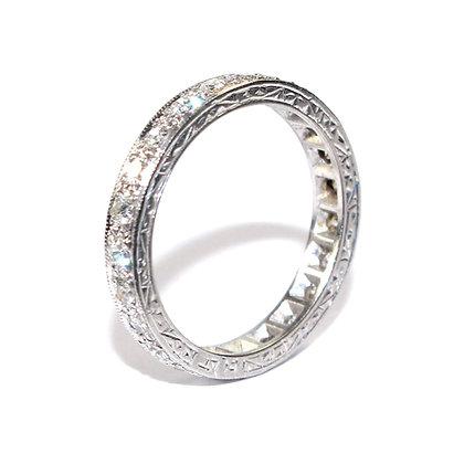 ART DECO DIAMOND ETERNITY RING