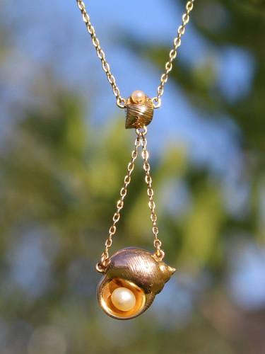 Edwardian Shell Necklace