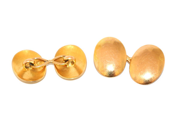 Victorian 15ct Gold Cufflinks