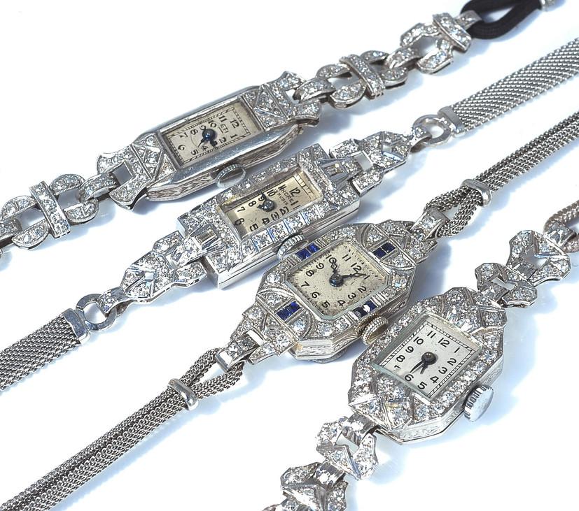 ART DECO diamond watches