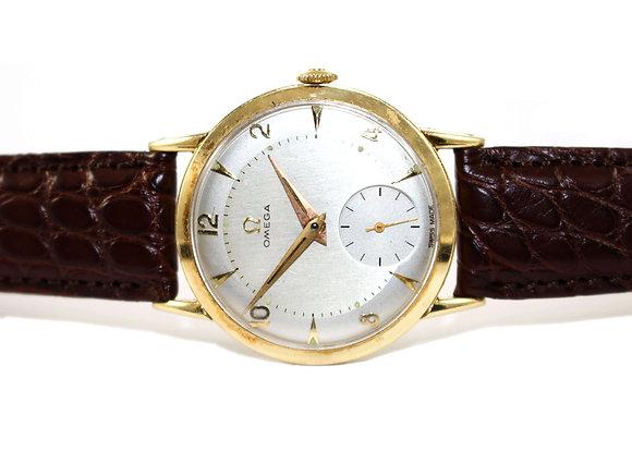 Vintage Omega Gold Watch