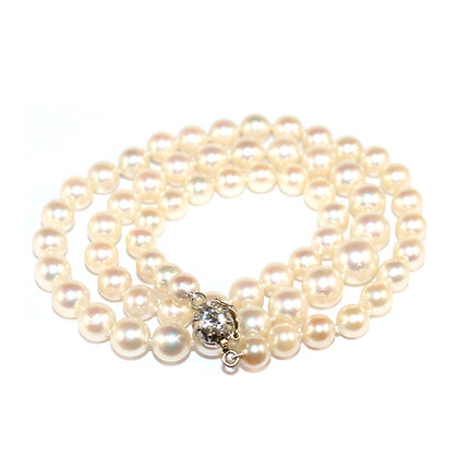 Akoya Pearl Necklace Shrewsbury Jewellers