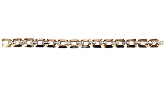 Art Deco DIAMOND TANK BRACELET