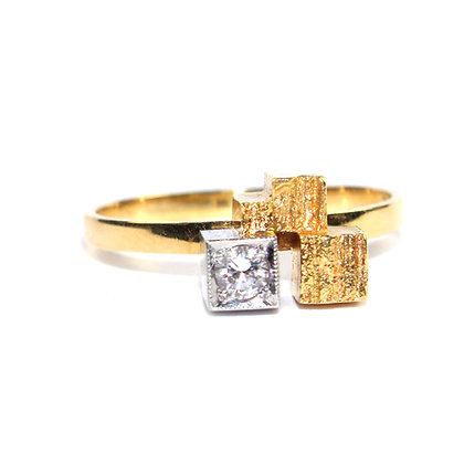 Vintage Lapponia Diamond Ring