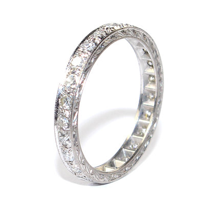 ARTDECO DIAMOND ETERNITY RING