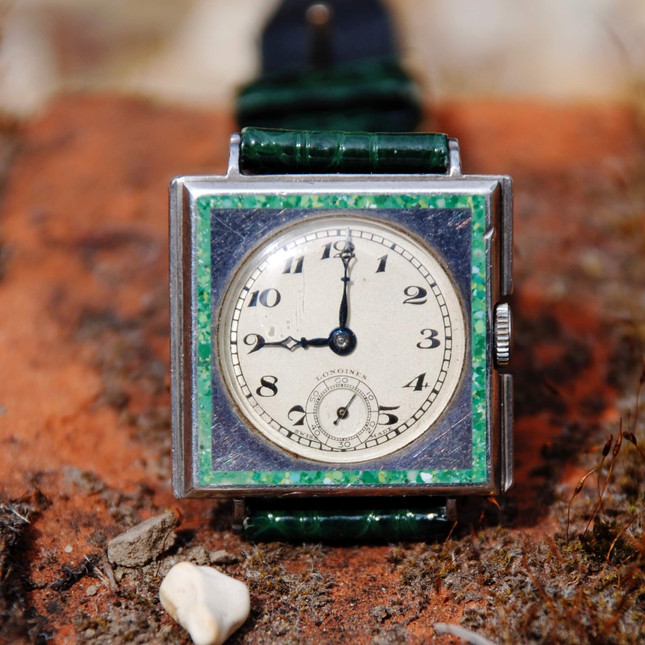 art deco longines watch