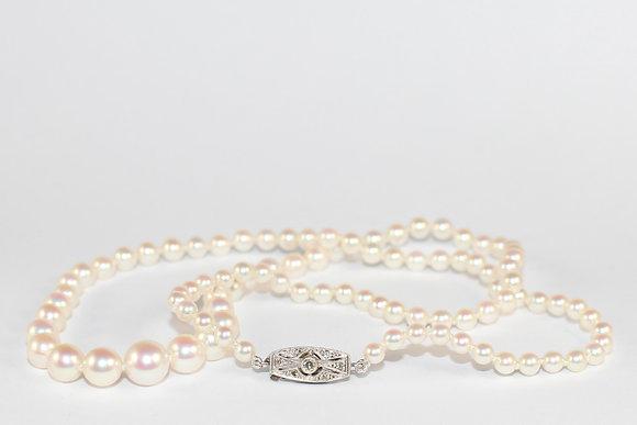 Edwardian Pearl Necklace