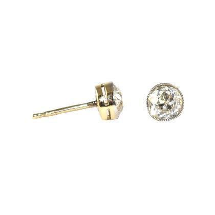 Edwardian 0.50 carat old-cut Diamond Stud Earrings c.1920
