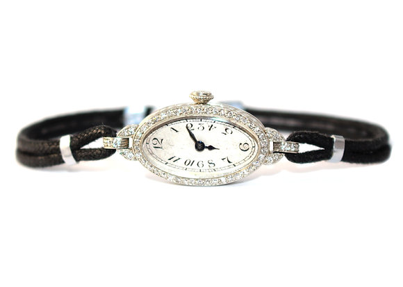 Art Deco Diamond Cocktail watch c.1925