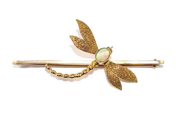 Antique Dragonfly Brooch