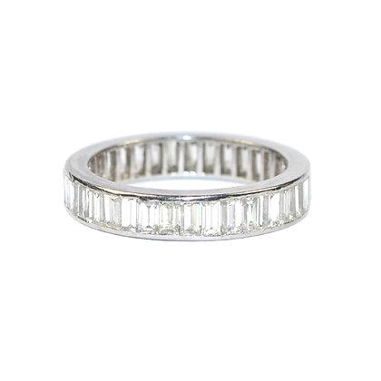 Art Deco Baguette Diamond Eternity Ring size L