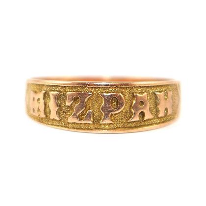 Victorian MIZPAH Ring