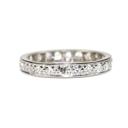 Art Deco Diamond Eternity Ring size N
