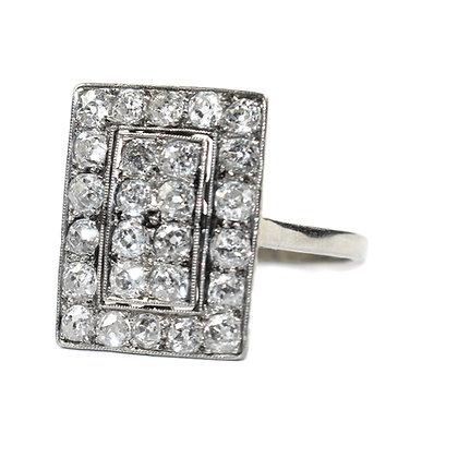 artdeco diamond ring