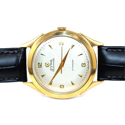 Cyma Cymaflex Automatic Gold Watch c.1950