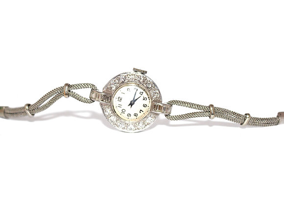 Art Deco Diamond Cocktail watch c.1940