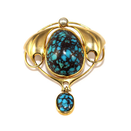 Art Nouveau Murrle Bennett jewellery