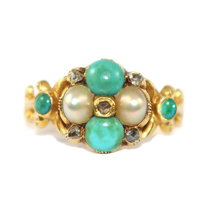 GEORGIAN TURQUOISE RING